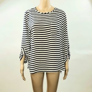 Cathy womans Blouse Top Size Medium sheer